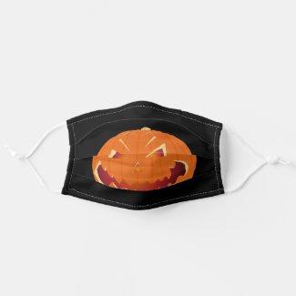 Pumpkin for Halloween 3 Cloth Face Mask