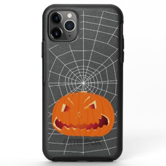 Pumpkin for Halloween 3 OtterBox Symmetry iPhone 11 Pro Max Case