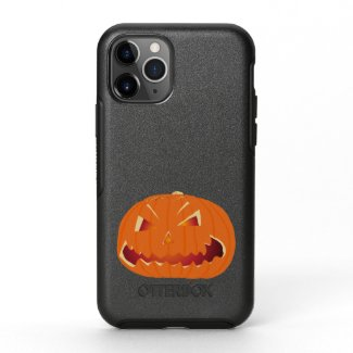 Pumpkin for Halloween 3 OtterBox Symmetry iPhone 11 Pro Case