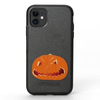 Pumpkin for Halloween 3 OtterBox Symmetry iPhone 11 Case