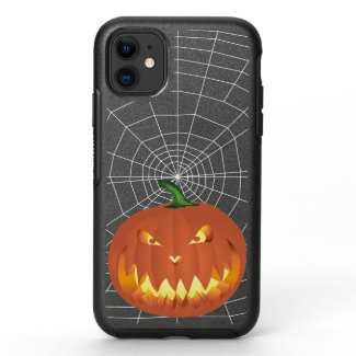 Pumpkin for Halloween 4 OtterBox Symmetry iPhone 11 Case