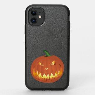 Pumpkin for Halloween 4 OtterBox Symmetry iPhone 11 Case