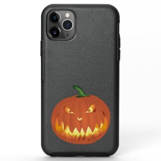 Pumpkin for Halloween 4 OtterBox Symmetry iPhone 11 Pro Max Case