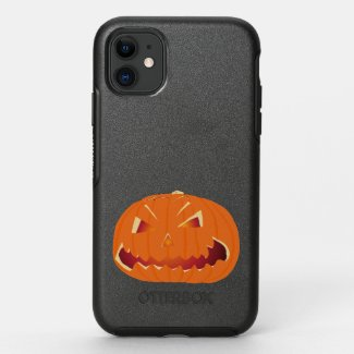 Pumpkin for Halloween 5 OtterBox Symmetry iPhone 11 Case