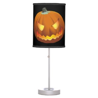 Pumpkin for Halloween 6 Table Lamp
