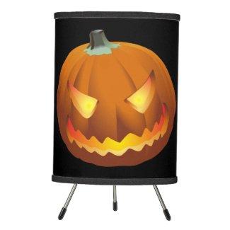 Pumpkin for Halloween 6 Tripod Lamp