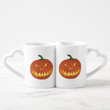 Pumpkin for Halloween... Coffee Mug Set