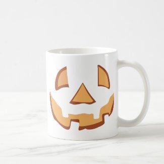 Pumpkin for Halloween in Black