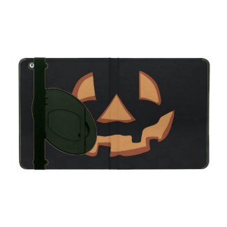Pumpkin for Halloween iPad Cover