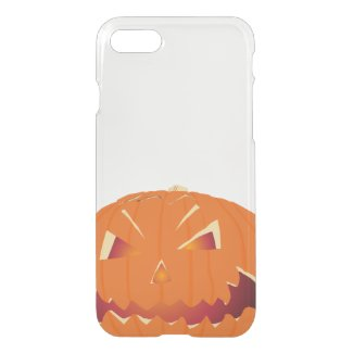 Pumpkin for Halloween iPhone7 Clearly™ Case