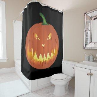 Pumpkin for Halloween... Shower Curtain