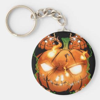 Pumpkin Friends Keychain