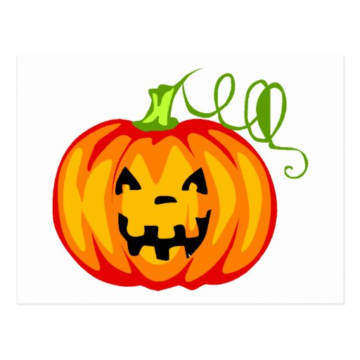 Pumpkin Fun Postcard