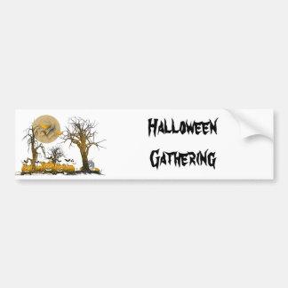 Pumpkin Gang Bumper Sticker