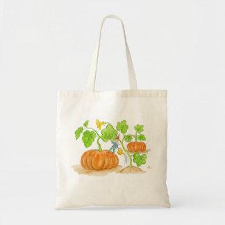 Pumpkin Garden Gnome bag