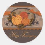 Pumpkin Garden Sticker
