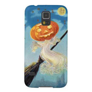 Pumpkin Ghost Witch Case For Galaxy S5