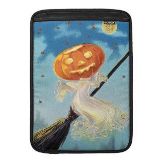 Pumpkin Ghost Witch MacBook Air Sleeves