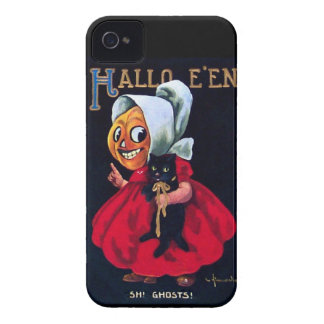 Pumpkin Girl iPhone 4 Case