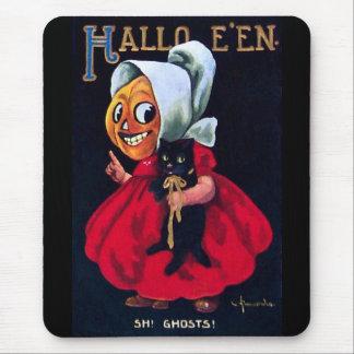 Pumpkin Girl Mouse Pad