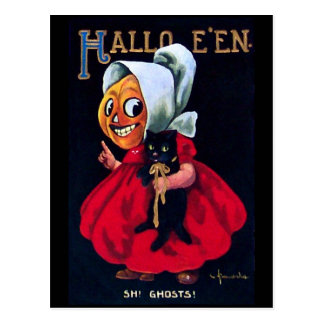 Pumpkin Girl Post Cards