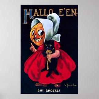 Pumpkin Girl Poster
