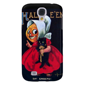 Pumpkin Girl Samsung S4 Case