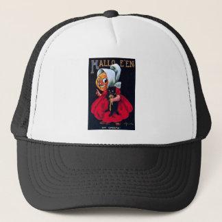 Pumpkin Girl Trucker Hat