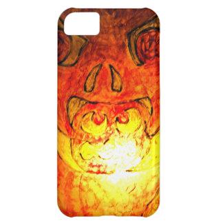 Pumpkin Glass Glow iPhone 5C Case