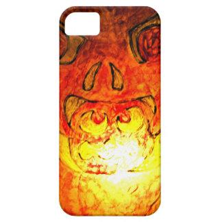 Pumpkin Glass Glow iPhone 5 Covers