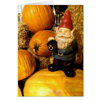 Pumpkin Gnome I Card