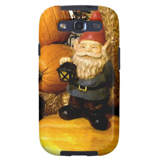 Pumpkin Gnome I Galaxy S3 Case