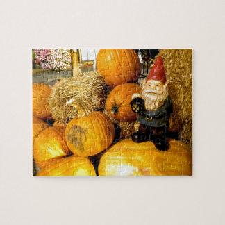 Pumpkin Gnome I Jigsaw Puzzle