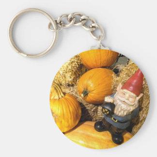 Pumpkin Gnome II Keychain