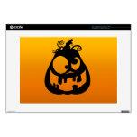 "Pumpkin Goofy 15"" Laptop Decals"