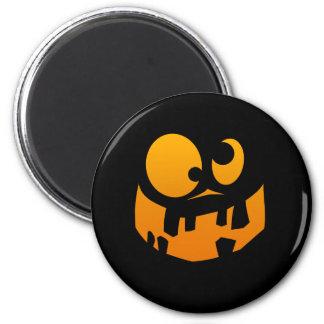 Pumpkin Goofy 2 Inch Round Magnet