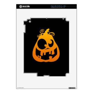 Pumpkin Goofy iPad 2 Decals