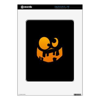 Pumpkin Goofy iPad Skins