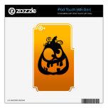 Pumpkin Goofy iPod Touch 4G Decals