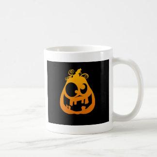 Pumpkin Goofy Classic White Coffee Mug