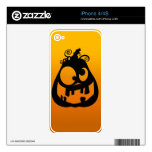 Pumpkin Goofy Skins For The iPhone 4