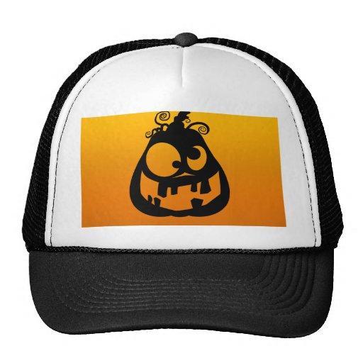 Pumpkin Goofy Trucker Hat