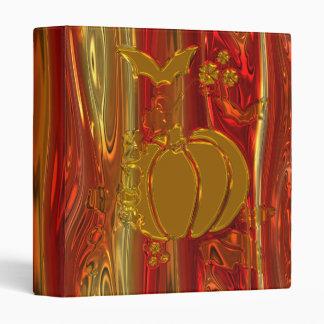 Pumpkin Halloween binder
