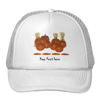pumpkin Halloween goodies Trucker Hat