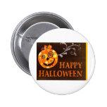 Pumpkin Halloween Grin Pin