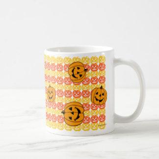 Pumpkin Halloween Mug Dancing