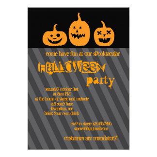 Pumpkin Halloween Party Invitation