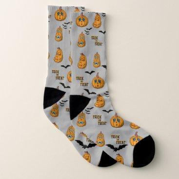 Halloween Themed Pumpkin Halloween Socks