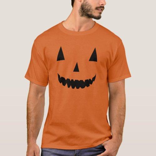pumpkin haloween costume funny T_Shirt
