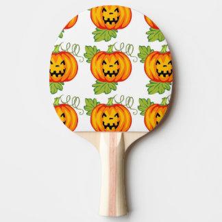 Pumpkin Ping Pong Paddle